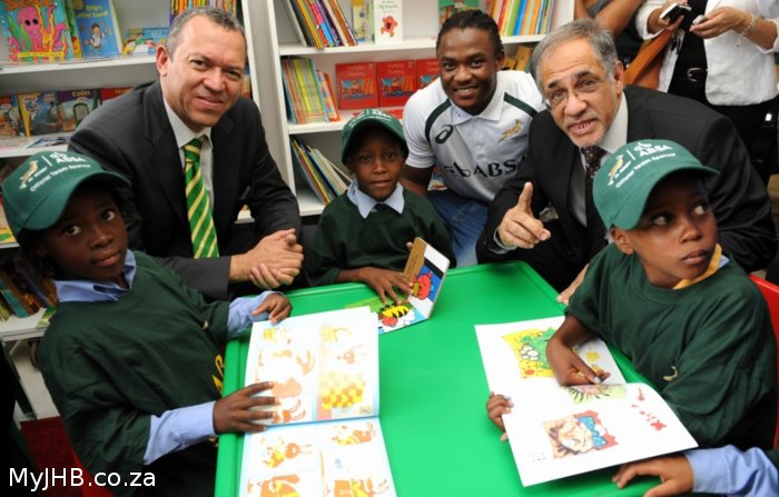 Boks for Books - Soweto