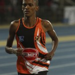 The University of Johannesburg's Jeromy Andreas will be aiming to repeat a home track victory during the Varsity Athletics meeting at the UJ Stadium in Westdene on April 14. Photo: Supplied