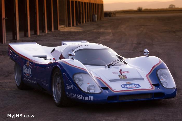 Bailey Porsche 917 Replica blows opposition away