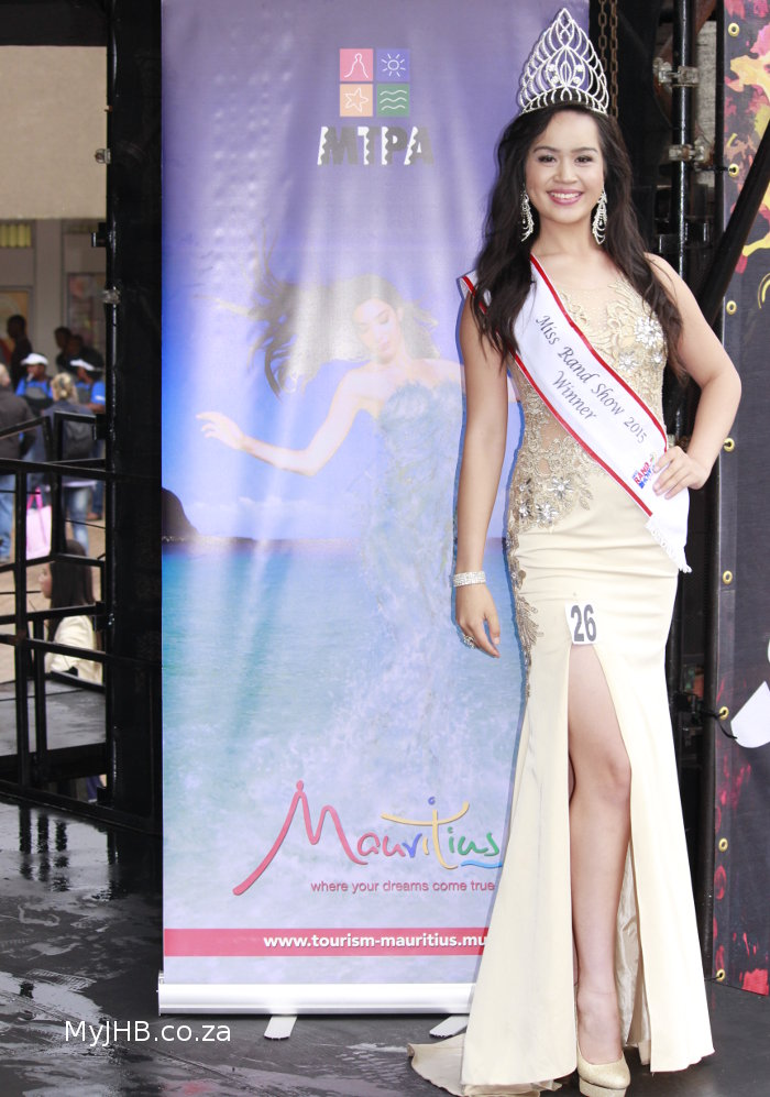 Miss Rand Show 2015 Tharina Botes