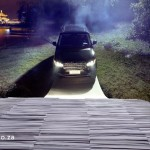 Luxury SUV completes world-first drive across one-off paper bridge