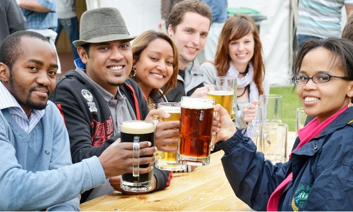 BeerExperience-Tour-with-a-Branded-Beer-Glass-from-R220-for-Four-at-the-South-African-Breweries