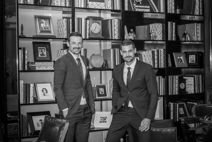 Erik-Kruger-and-Andrew-Mack-BetterMan-and-Dunhill-Fragrances-event