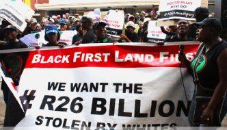 26 Billion Black First Land First