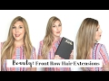 [BEAUTY]: Front Row Hair Extensions Tutorial