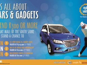 It's all about cars and gadgets 2019 Photo: Mall of the South | Haval The Glen | Eye of Africa | MasterDrive